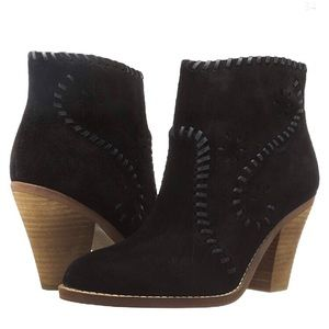 Ivanka Trump Black Mandel Booties Size 9M